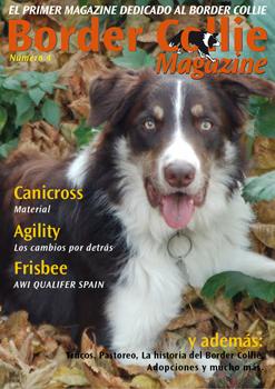 Portada Border Collie Magazine número 04 - Octubre 2011