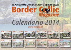 Calendario Border Collie Magazine 2014